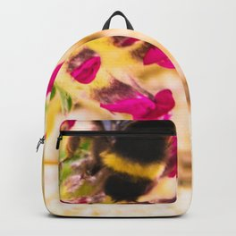 bumble been on a dune flower Backpack