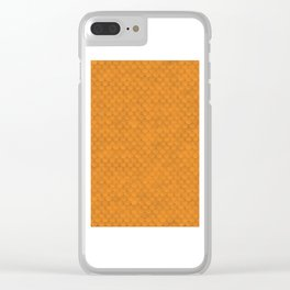 Aquaman Scales Clear iPhone Case
