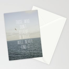 Those who don't believe... Stationery Cards