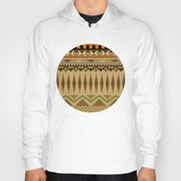 aztec Hoodies featuring Aztec by Jack Robson