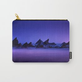 Still Waters Jagged Rocks Carry-All Pouch