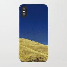 golden hillside iPhone X Slim Case
