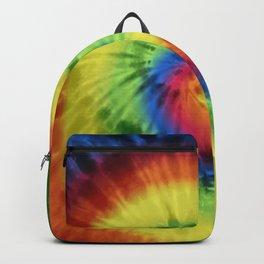 Boho Spiral Tie Dye Pattern Backpack
