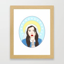 Our Lady Choi Jin Ri Framed Art Print