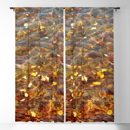 Fall in the Water 56 Blackout Curtain