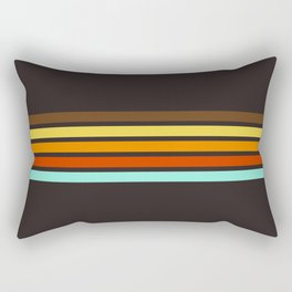 5 Thin Colorful Stripes 19 Rectangular Pillow