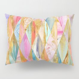 Justine Abstract Brushstrokes Pattern Pillow Sham