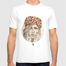 Keep your hat on Mens Fitted Tee White SMALL