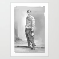 soldier2 Art Print
