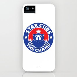 Star Cubs The Champ iPhone Case