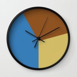 Color block #3 Wall Clock
