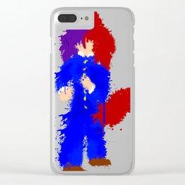 Splatter Kiyoshi Clear iPhone Case