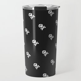 Skulls and bones Travel Mug