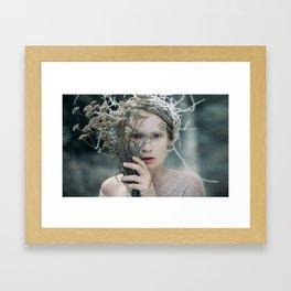 The Glance. Prickle Tenderness Framed Art Print