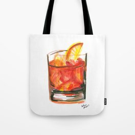 Negroni Cocktail Hour Tote Bag