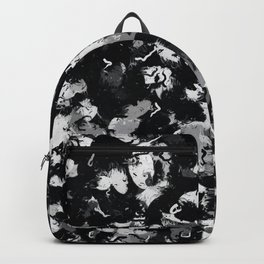 Shades of Gray and Black Oils #1979 Backpack