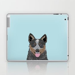 Kellan - Cattle Dog gifts for dog lovers and australian cattle dog gifts for dog person Laptop & iPad Skin