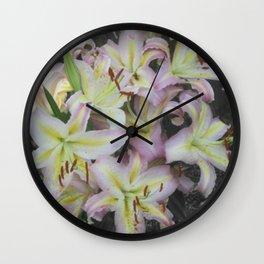 Pop of Color Wall Clock