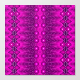 Magenta Vibrations Canvas Print