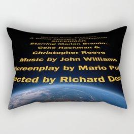 Superman cast & crew Rectangular Pillow