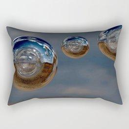 CropCirclesTwentyFive Rectangular Pillow