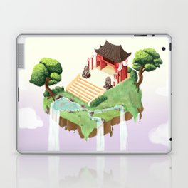 Temple in the sky Laptop & iPad Skin