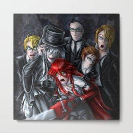 Haunted House Reapers Metal Print