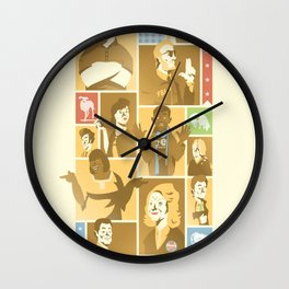 Parks & Rec Wall Clock