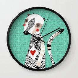 My meerkat Wall Clock