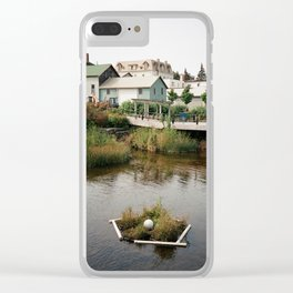 Water Walkway Clear iPhone Case