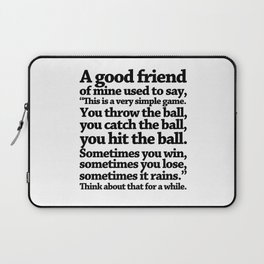quoting Hollywood 16 Laptop Sleeve