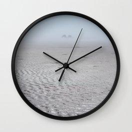 Ripples & Twin Rocks Wall Clock