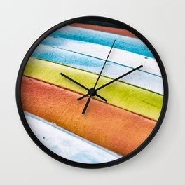 The Color of Kayaks... Wall Clock