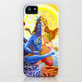 Shiva and Shakti iPhone Case