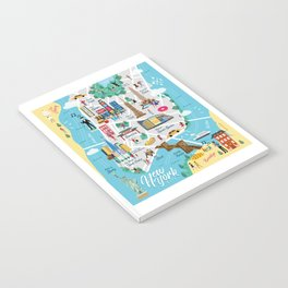New York Illustrated Map Notebook