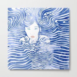 Water Nymph XLIII Metal Print