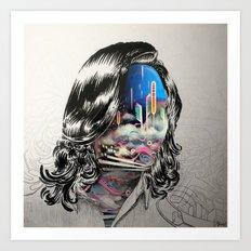 Clouds in the Head Art Print