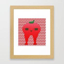 Watermelon blodbaby Framed Art Print