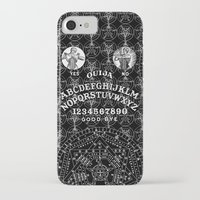 ouija iPhone & iPod Cases featuring OUIJA by DIVIDUS