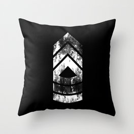 Master Sergeant (weathered) Throw Pillow