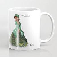 parks Mugs featuring Princess Rosa Parks (Trumble Cartoon) by Trumble Art (David Trumble, Cartoonist a
