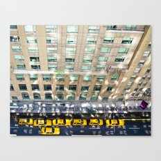Above the Waldorf Canvas Print