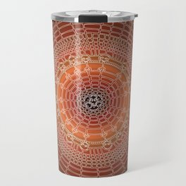 Becoming on Black Background Travel Mug
