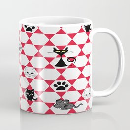 The challenge: one mouse, many cats, one award. Coffee Mug