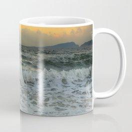 Ocean waves during sunset Coffee Mug