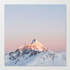 Mt Aspiring - square Canvas Print