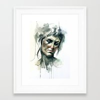 chelsea Framed Art Prints featuring Chelsea by Alma Elaine Shoaf