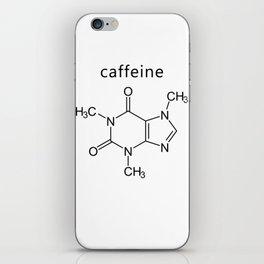 caffeine molecule formula iPhone Skin