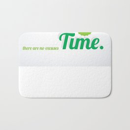 Make Time Bath Mat