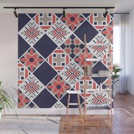 Quilt Pattern Wall Mural